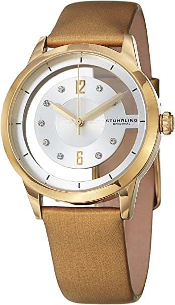 Stuhrling original automatic self-winding women's watches analog quartz