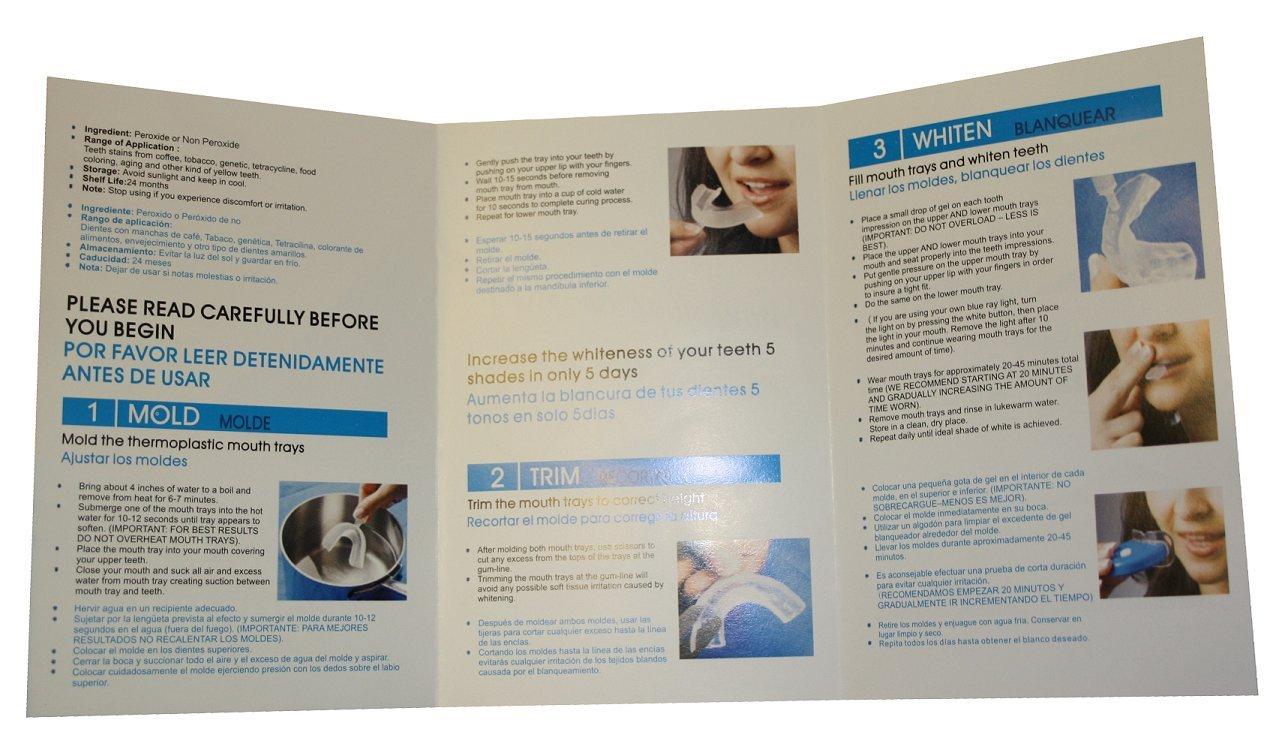 Amazon.com : Briyte TM Teeth Whitening Kit System (TEETH WHITENING) Pro Home Whiten Tooth Dental Care White GEL Bleaching Shine Kit Advanced Light Whitener ...