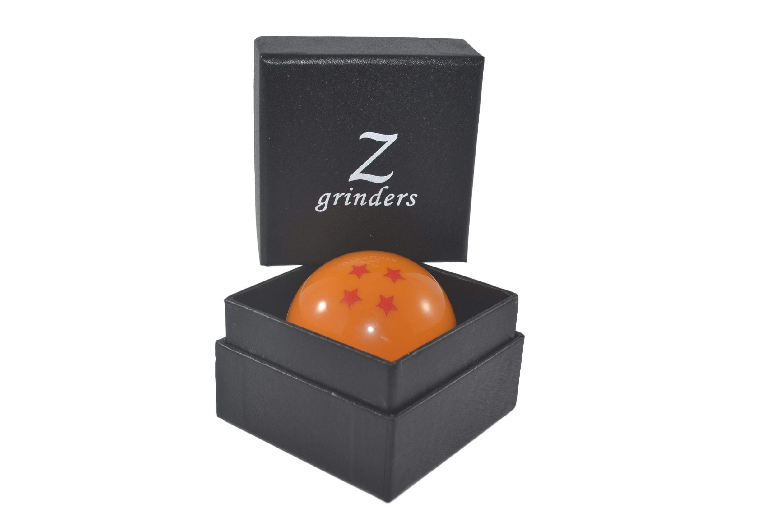 Premium Dragon Ball Z Herb Grinder - 3 Piece Magnetic Grinder Used for Herbs, Tobacco, and Spices - Gift Box Included