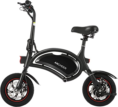Ancheer Mini-Size Folding Electric Bike
