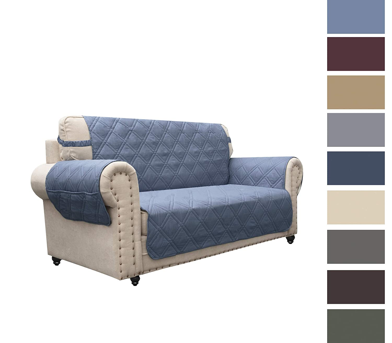 Ameritex Funda de sofá diseño de Huellas de Perro ...