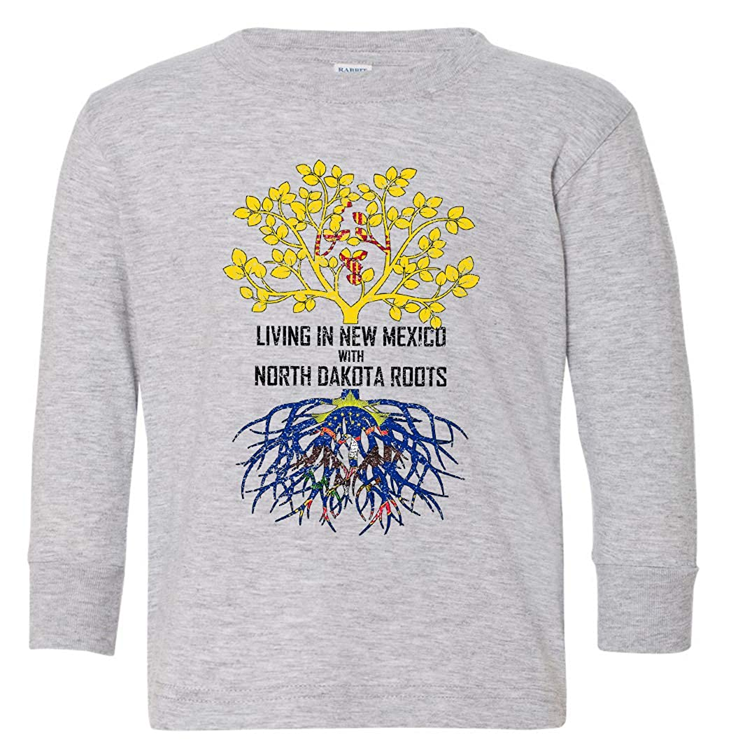 Tenacitee Babys Living in Mexico North Dakota Roots Shirt