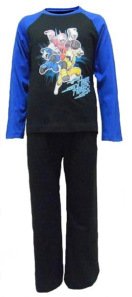 TDP Textiles Pijamas para niños Action Power Rangers 4-5 años/110