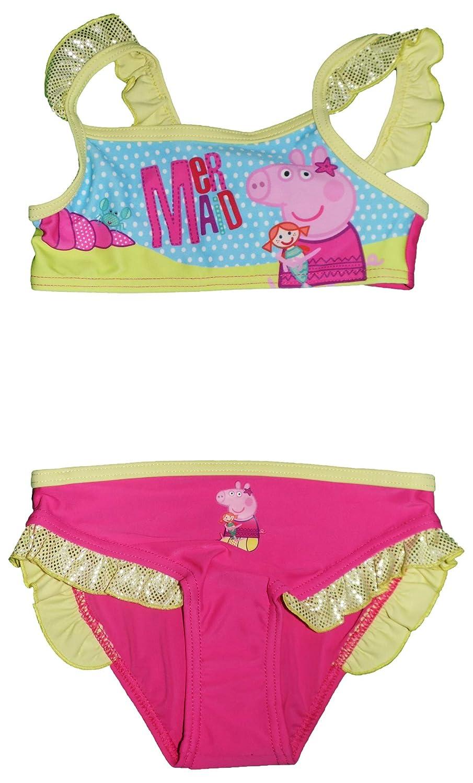 Peppa Pig Suzie Girls 2 Piece Swimming Costume