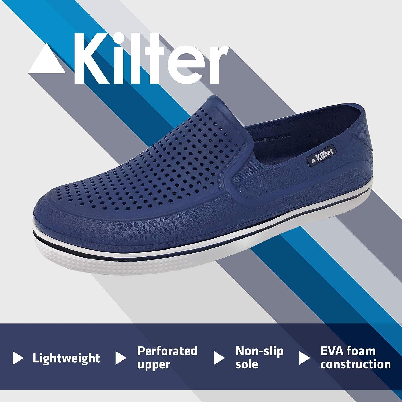 Kilter Mens Lightweight /& Breathable Clogs