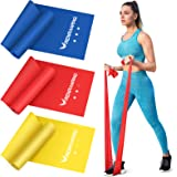 Resistance Bands Set - Exercise Bands for Physical Therapy, Yoga, Pilates, Rehab and Home Workout, Non-Latex Elastic Bands