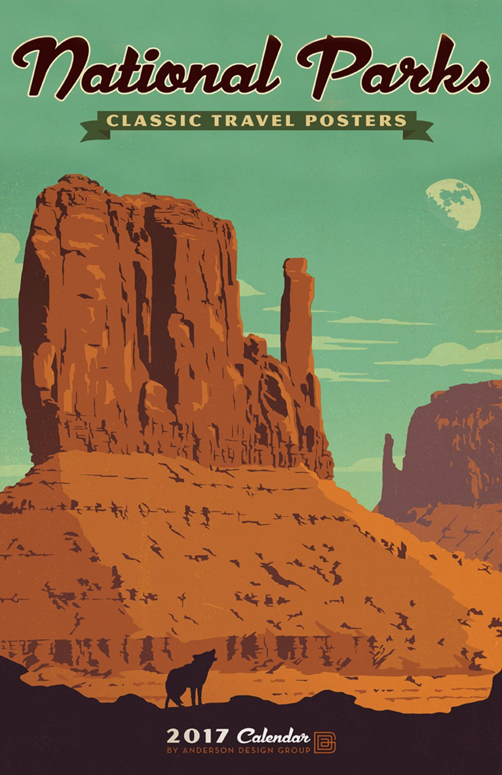 National Park Posters Anderson Branching Off Of The Parks