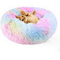 DADYPET Cama para Gatos Lavable Cama Perro Cálido Felpa Suave,Cama Interior Invierno para Mascotas,Resbalón Prueba,50cm