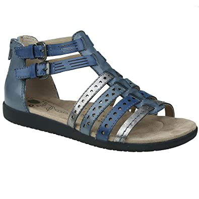 56b1969ba87 Earth Origins New Women s Harlin Sandal Admiral Blue 6