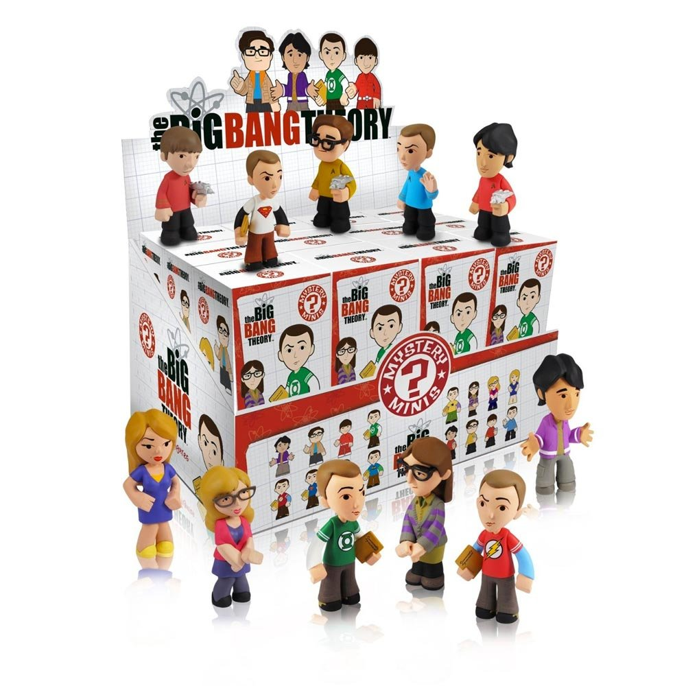 Funko Big Bang Theory PDQ Mystery Minis Display Action Figure Single Unit 3573 Misc Product