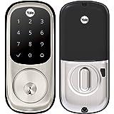 Yale Assure Lock – Teclado sensível ao toque fechadura para porta em níquel acetinado