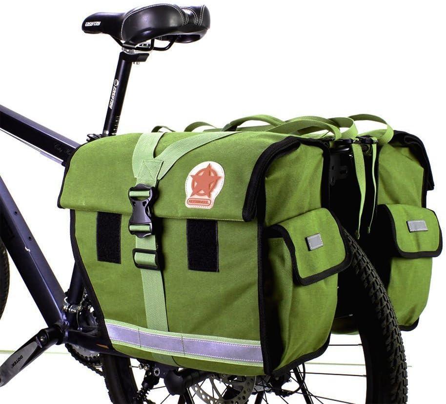 Roswheel 14686-G - Maleta para Bicicleta (45 L, Resistente al Agua), Color Verde: Amazon.es: Deportes y aire libre
