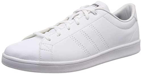 official photos c6e52 aa9f0 adidas Womens Advantage Clean Qt Fitness Shoes, White (FtwblaNegbás 000) 4