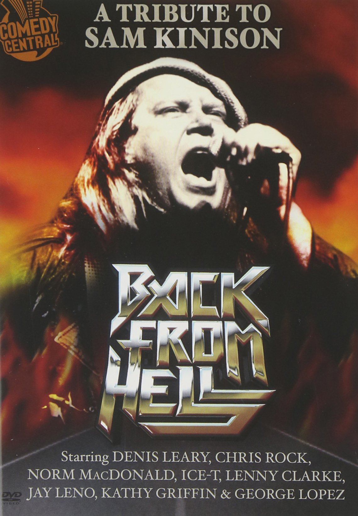 DVD : Jay Leno - Back From Hell: A Tribute To Sam Kinison (Widescreen, Dolby, AC-3)