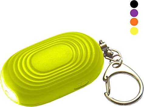 Personal Attack Safety Security Panic Alarm Emergency Siren Keychain