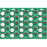 25 pack cr2032 batteria 3v litio cr 2032