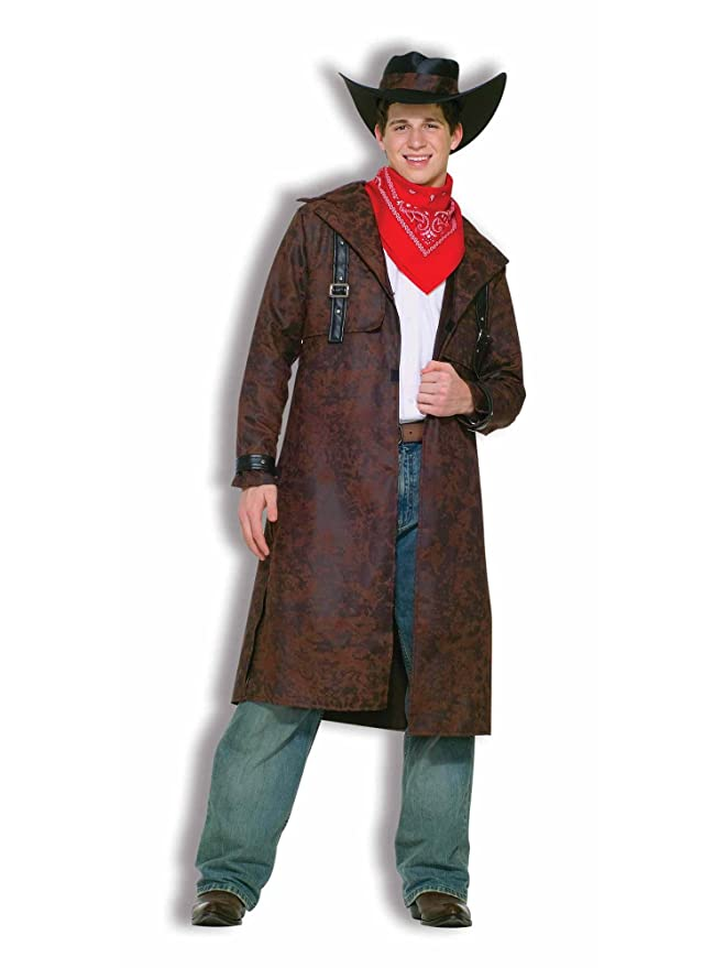 Victorian Men's Costumes: Mad Hatter, Rhet Butler, Willy Wonka Forum Novelties Mens Teenz Desperado Costume $32.36 AT vintagedancer.com