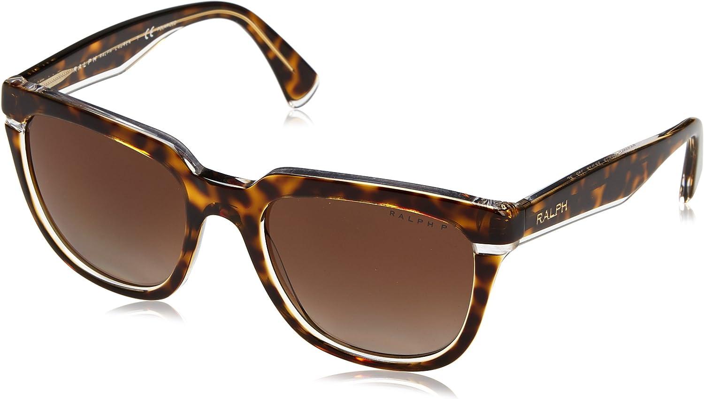 Ralph Lauren RALPH BY 0Ra5237 Gafas de sol, Tortoise Crystal, 53 para Mujer