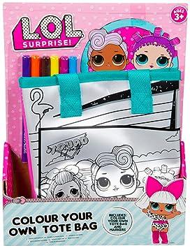L.O.L. Surprise! Bolsa Infantil Muñecas Colorear | Incluye ...