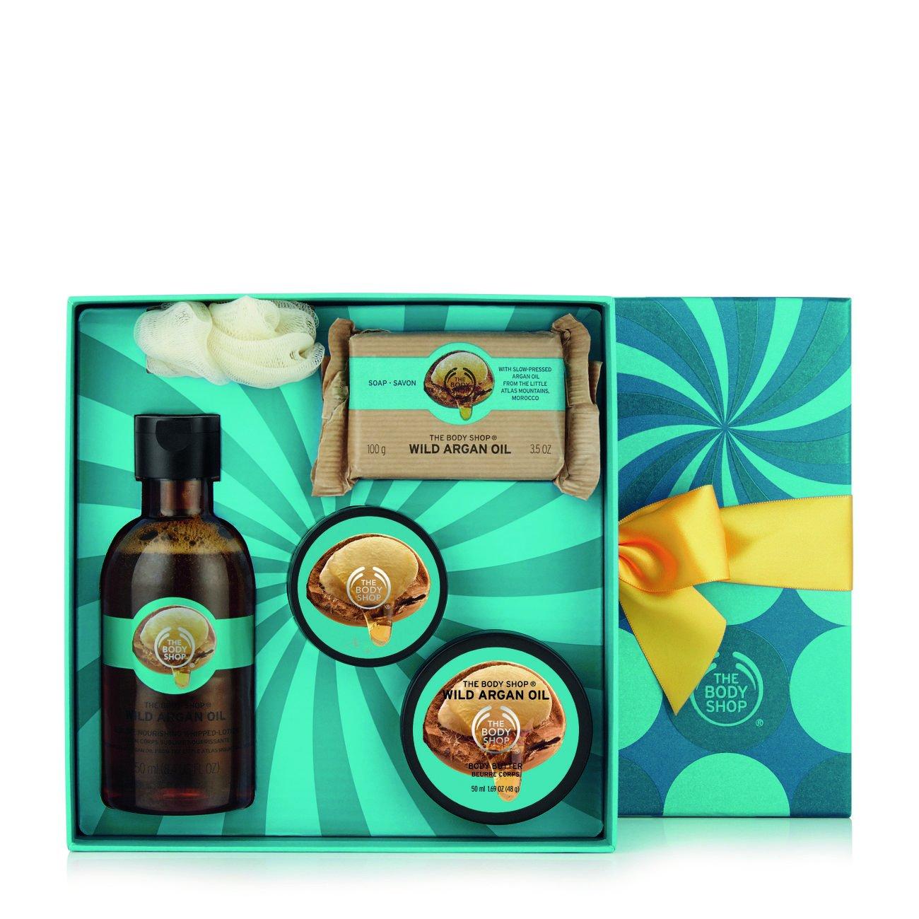The Body Shop Wild Argan Oil Festive Picks Small Gift Set