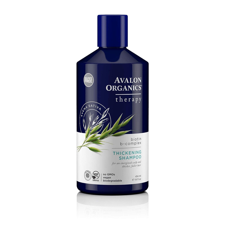 Avalon Organics, Biotin B-Complex Thickening Shampoo, 414ml AV36102 masaike-5320263-1