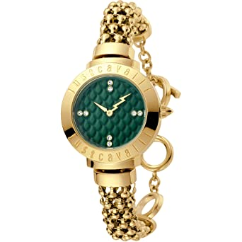 Only time clock Women Just Cavalli Animals Trendy Cod. jc1l048 m0045   Amazon.co.uk  Watches dcae03715c
