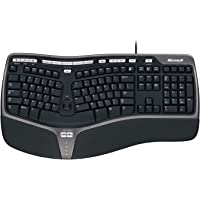 Microsoft Natural Ergnomic Keyboard 4000 (Deutsch), USB-Anschluss (Verpackung für Unternehmen)