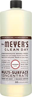 product image for Mrs. Meyers Clean Day Multi-Surface Concentrated Cleaner, Lavender, 32 Fluid Ounce
