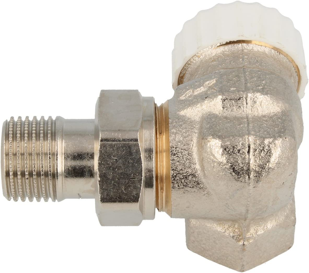 s/érie fer R421 TG Robinet de radiateur /équerre /à visser F 1//2 Giacomini