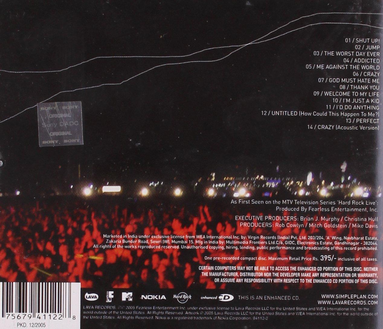 MTV Hard Rock Live by Lava