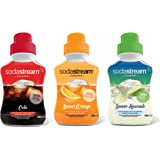 Sodastream Concentraat cola/oranje/limonade, 500 ml, 3 stuks