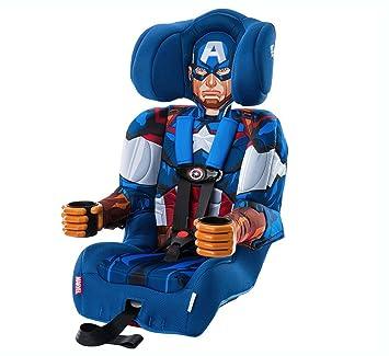 KidsEmbrace Incredible Hulk Booster Car Seat Marvel Avengers Combination 5 Point Harness Green 3001HLK