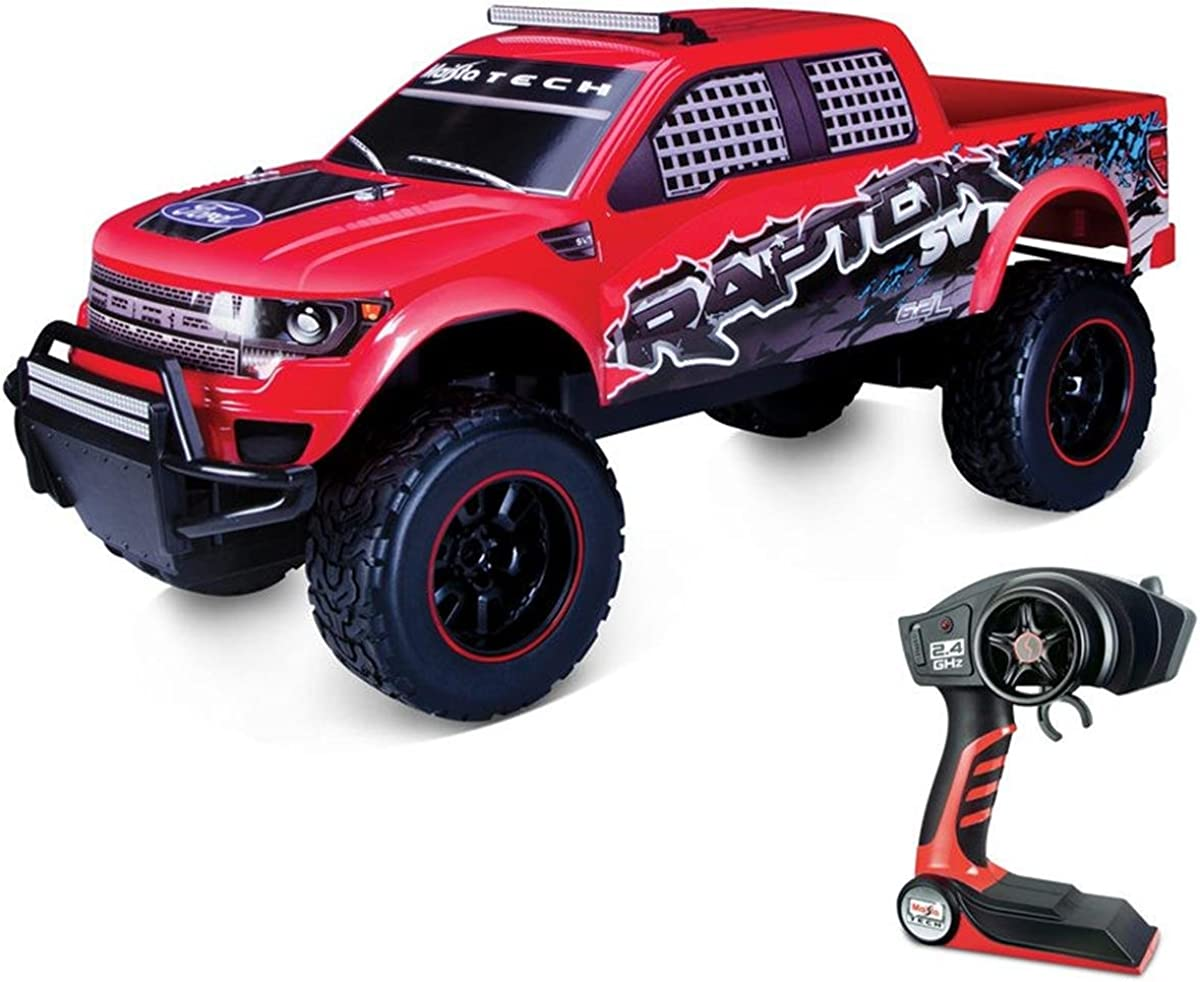 Amazon Com Kids Fun Play Toy 1 6 Rc Truck Ford F 150 Raptor Pro Style Remote Controller Clothing