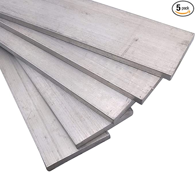 1pc 6061 T6 Aluminum Alloy Flat Bar 5mm x 10mm x 500mm