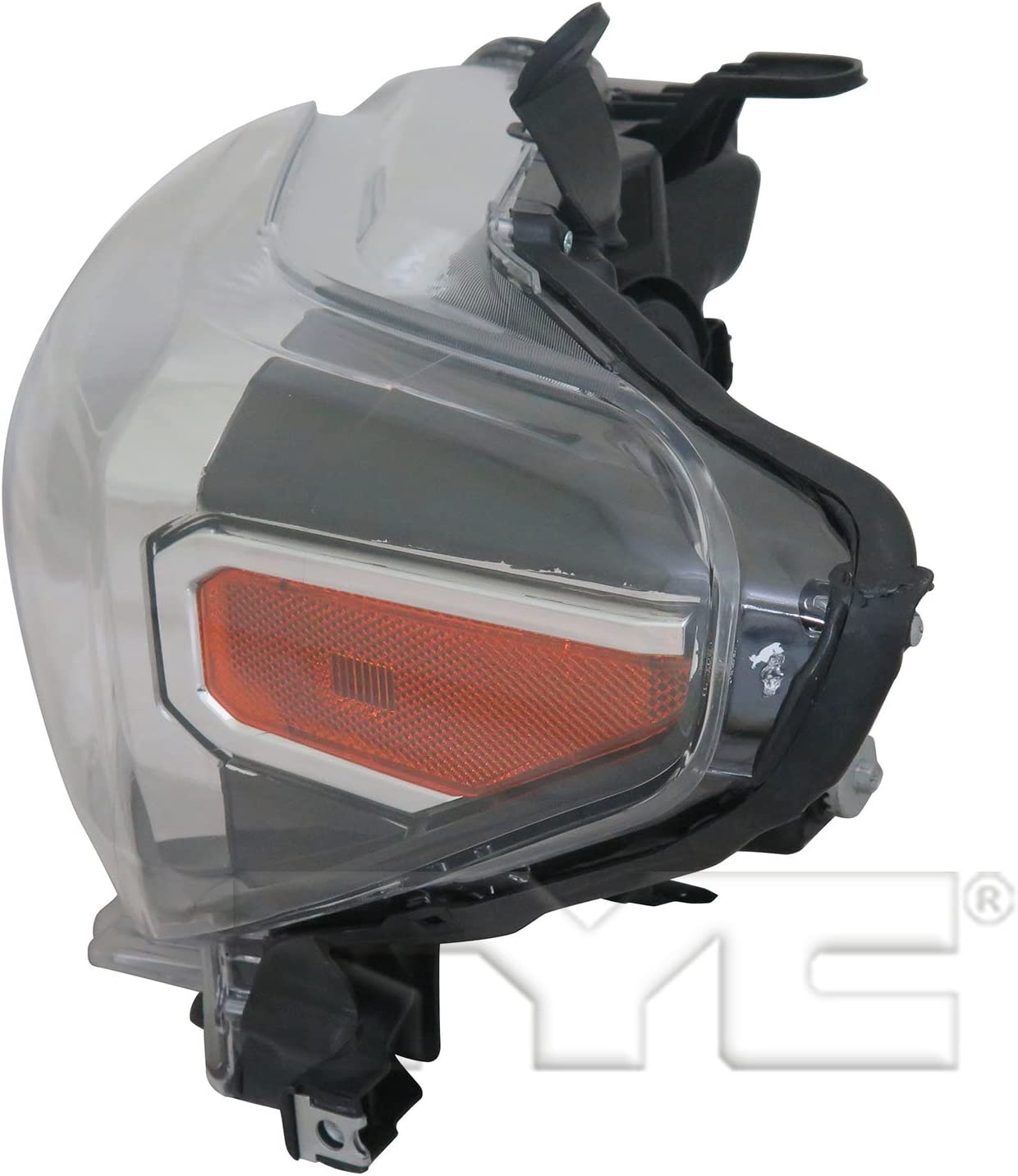 TYC 20-9750-90-1 Replacement Left Head Lamp Compatible with Toyota Tacoma