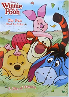 Amazon.com: Disney Winnie The Pooh Coloring And Activity Book Set (2 ...