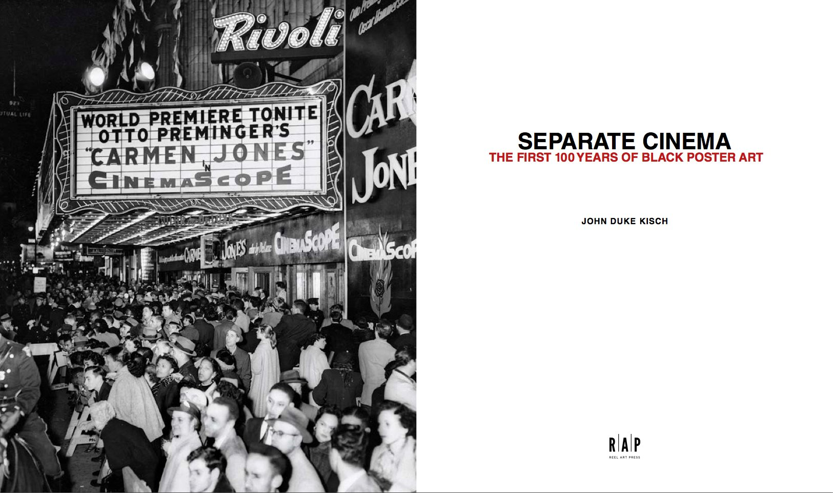 Separate Cinema: The First 100 Years of Black Poster Art: John Kisch, Tony  Nourmand, Spike Lee, Henry Louis Gates, Peter Doggett: 9781909526068:  Amazon.com: ...