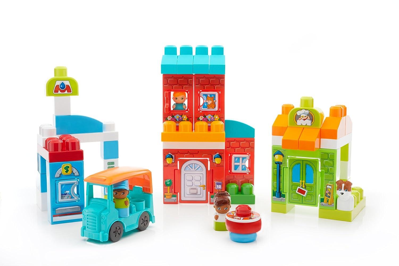 Mega Bloks FFG36/Main Street Friends Building Blocks Set