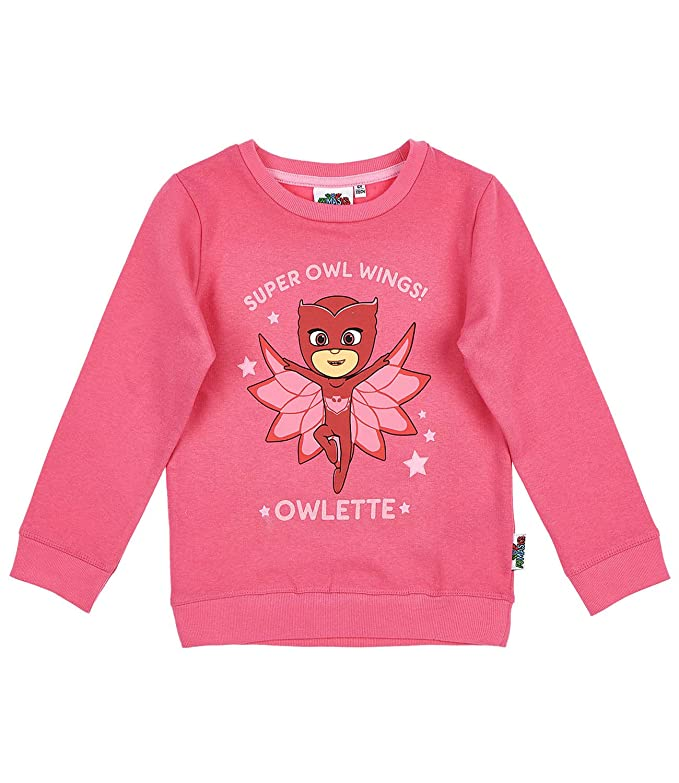 Amazon.com: Pj Masks Childrens Girls Catboy Owelette Gekko Jumper New 2017-2018: Clothing