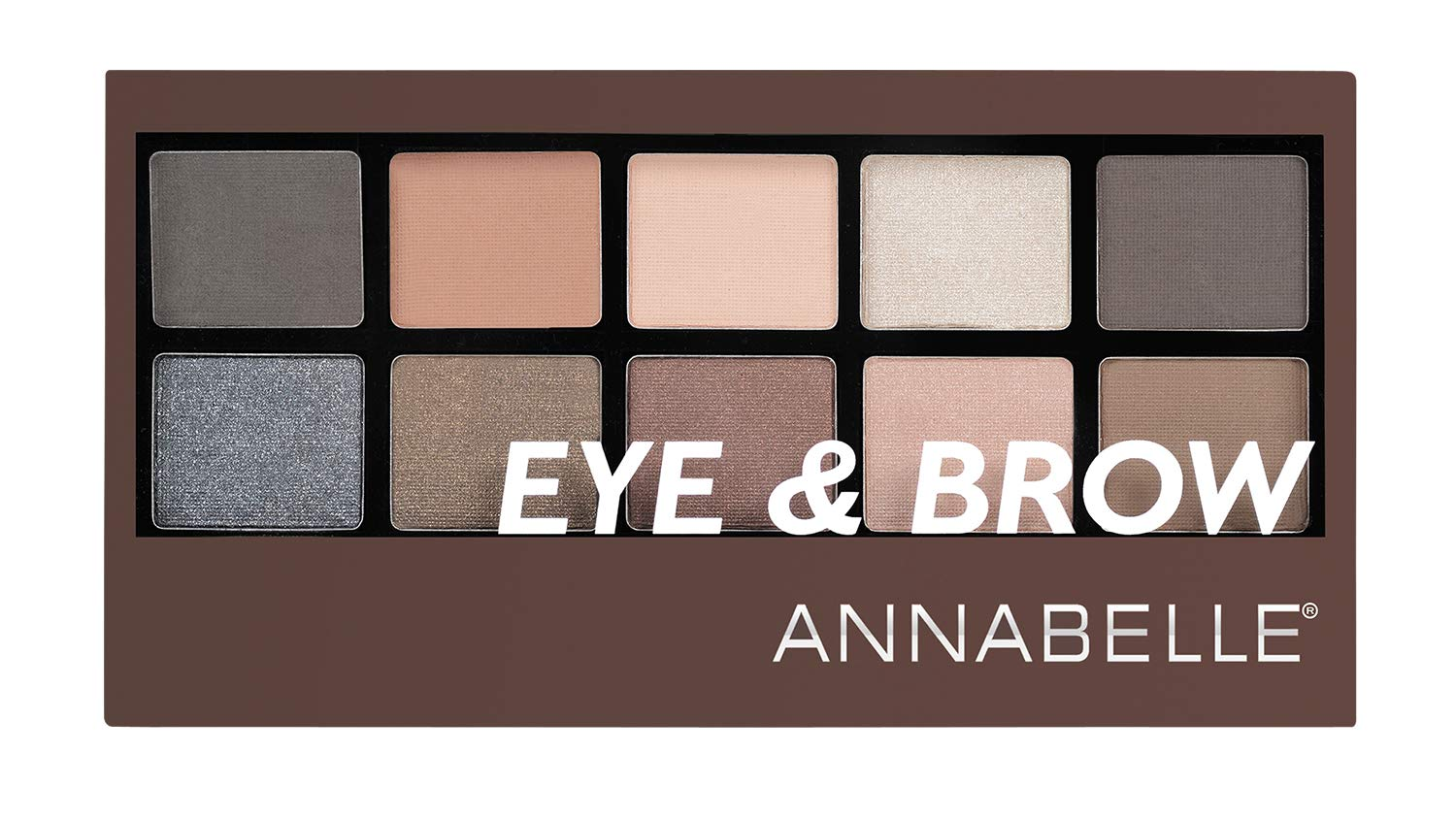 Annabelle Eye & Brow Palette, 9.3 g Groupe Marcelle Inc.