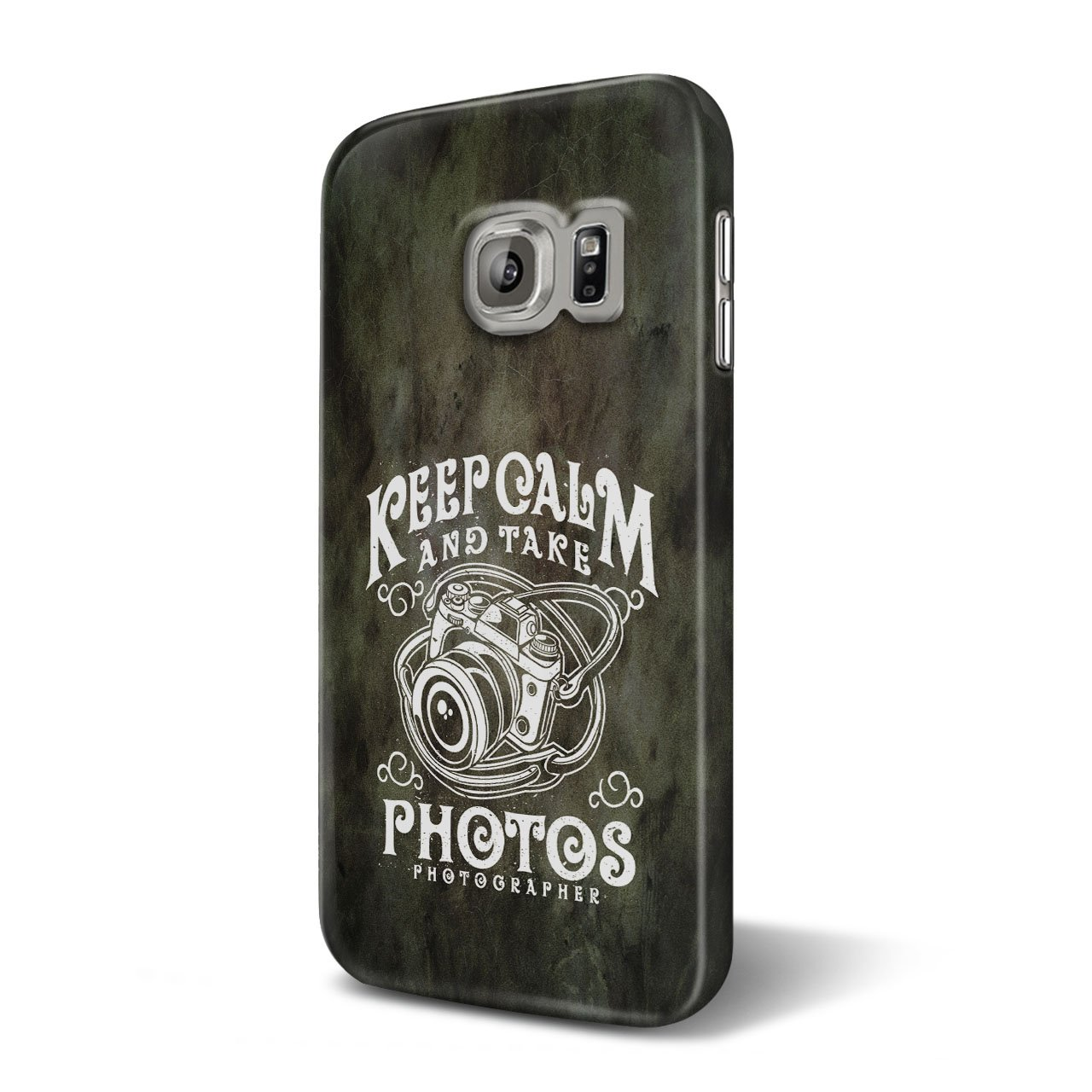 b5e01694c61 Amazon.com: Calm Photographer Fashion 3D Samsung Galaxy S6 Case | Wellcoda:  Cell Phones & Accessories