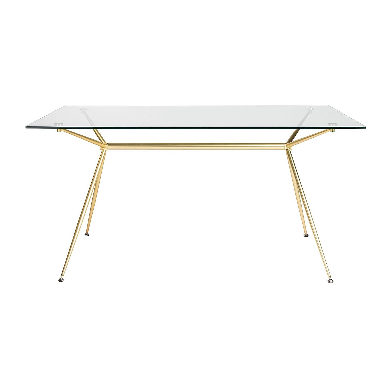 """Amazon Euro Style MBG KIT Atos 60"""" Rectangle Dining Table"""