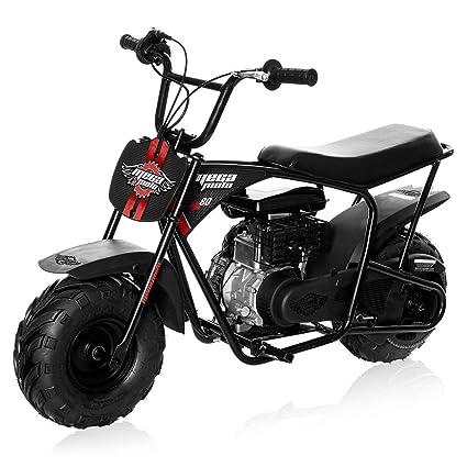 Mega Moto Gas Mini Bike 80CC/2 5HP without Suspension (MM-B80-BR)(Black)