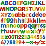 Foam Magnetic Letters Cute ABC Magnetic Gift Education Toys Alphabet Letters and Numbers Fridge Magnets-104pcs