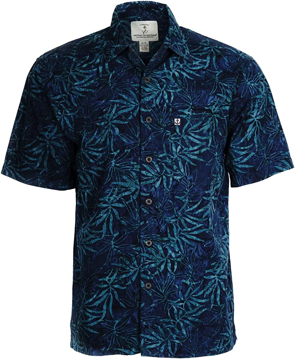 Artisan Outfitters Mens Oasis Batik Cotton Shirt