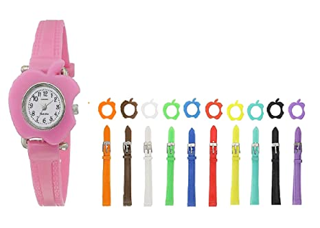 0c8e38394 Ss Collection 11 Strap Analogue White Dial Women s   Girl s Watch With 11  Interchangeable Dial And