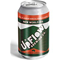 UpFlow New World IPA Non-Alcoholic Beer 0.5% ABV, 24 x 355mL