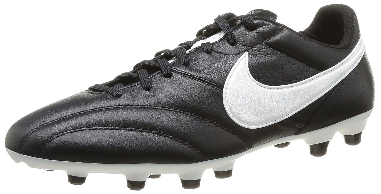 Nike The Nike Premier - Zapatillas de fútbol para hombre 41 EU Negro / Blanco / Naranja (Black / Summit White-orng Blaze)
