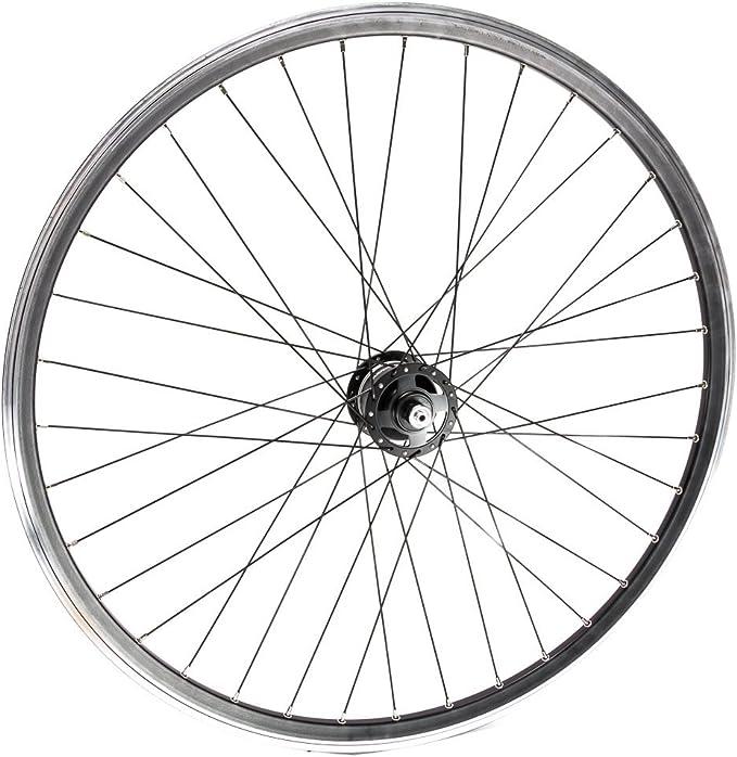 28 pulgadas Rueda delantera SHIMANO DEORE XT Buje dinamo bicicleta ...