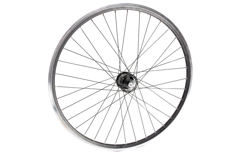 "28"" Zoll Vorderrad Shimano Deore XT Nabendynamo Fahrrad Felge Laufrad Geöst"